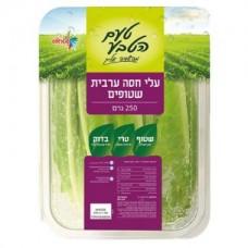 עלי חסה בקופסא 250 גרם ירקות שטראוס - פירות וירקות