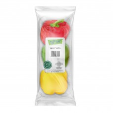 פלפל רמזור ארוז - פירות וירקות