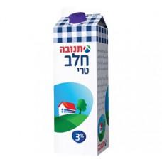 השוקה - חלב מפוסטר בקרטון 3% עם פקק